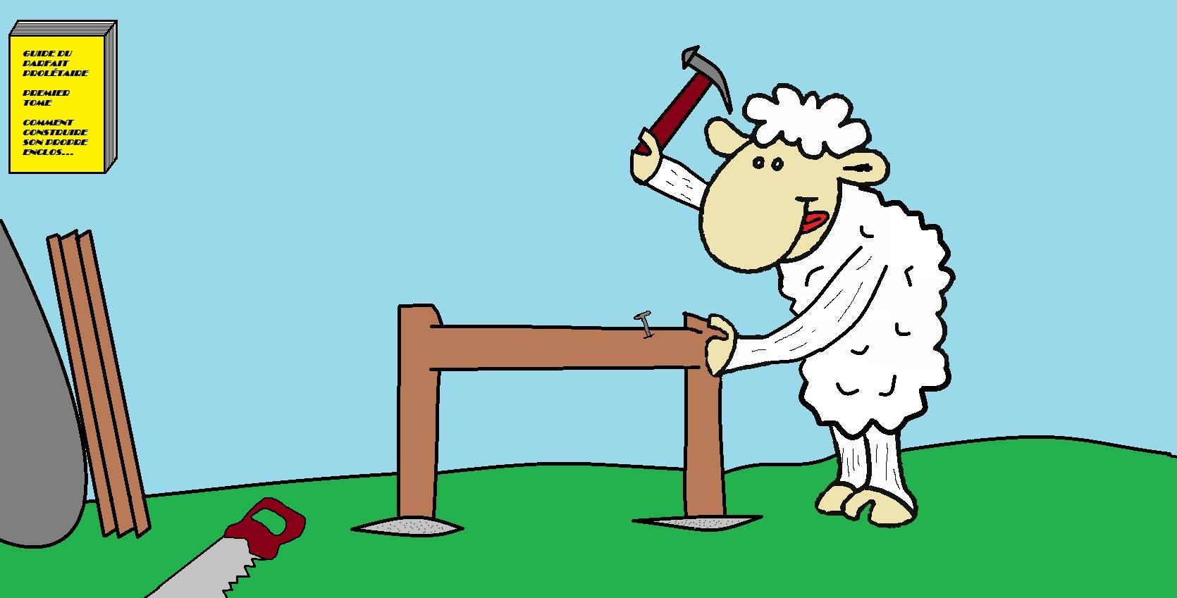 L ali nation volontaire quand le mat rialisme s 39 en m le - Dessin mouton rigolo ...